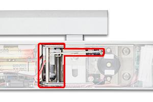 NOAKEL® (ノアケル)内蔵型非常解錠器(ノアケルオプション機器) EXC-7136